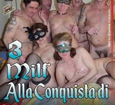 FilmPornoItaliano : Porno Streaming Tre milf alla conquista di Roma CentoXCento Streaming